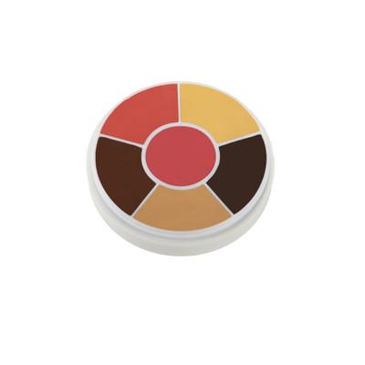 Ben Nye Creme Contour & Blush Wheel - Brown