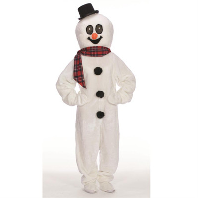 Snowman Suit with Mascot Head
