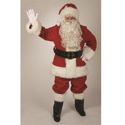 Red Velvet Santa Suit