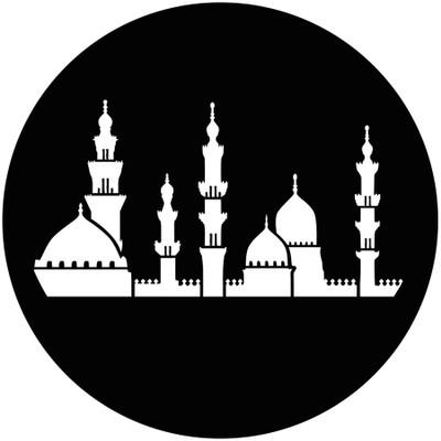 Middle East Skyline - GAM Gobo #878