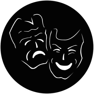 Comedy Tragedy - GAM Gobo #901