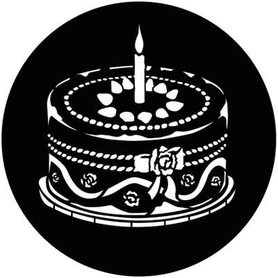 Party Cake - GAM Gobo #904