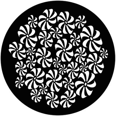 Pinwheel Breakup - GAM Gobo #908