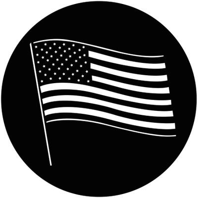 American Flag - GAM Gobo #237.