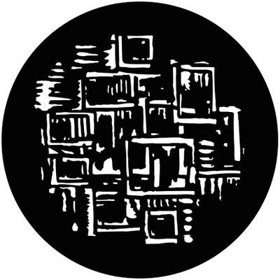 Glass Brickup - GAM Gobo #709