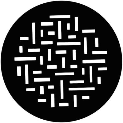 Random Rectangles - GAM Gobo #735