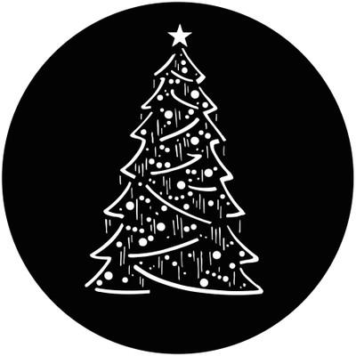 Christmas Tree Composite - GAM Gobo #824