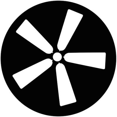 Ceiling Fan 5 - GAM Gobo #835