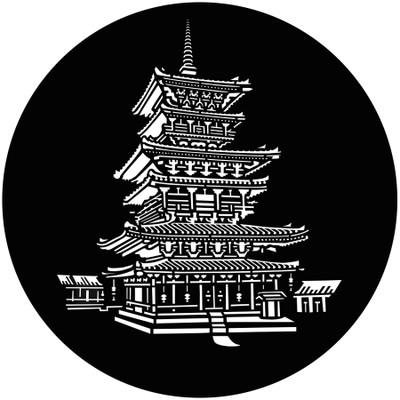 Pagoda - GAM Gobo #890