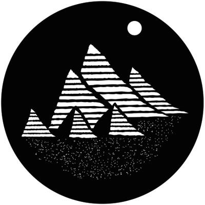 Pyramids - GAM Gobo #897
