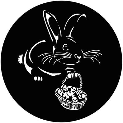 Easter Bunny - GAM Gobo #905