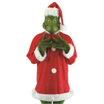Adult Grinch Costume with Mask