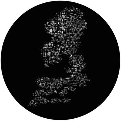 Halftone Cloud 4 - GAM Gobo #T23