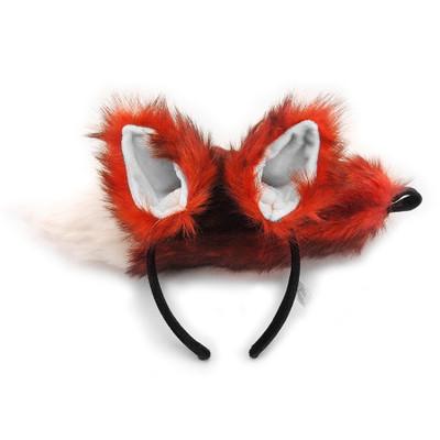 Fox Ears Headband & Tail Kit