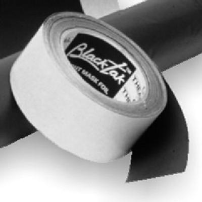City Theatrical Black Aluminum Foil Tape