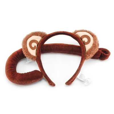 Monkey Ears Headband & Tail Kit