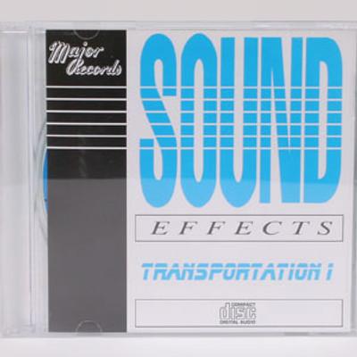 Sound Effects: Transportation 1 Trains & Planes