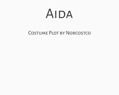 Aida Costume Plot | by Norcostco