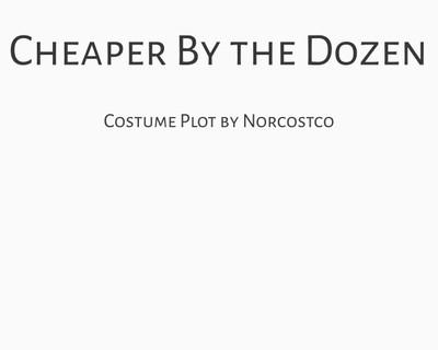 Cheaper by the Dozen Costume Plot | by Norcostco