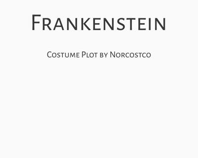 Frankenstein Costume Plot | by Norcostco
