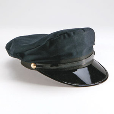 Chauffeur Cap, Black