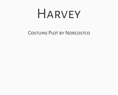 Harvey Costume Plot   by Norcostco