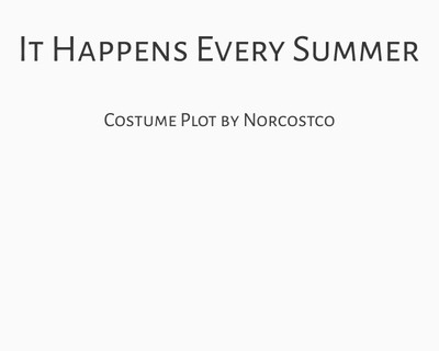 It Happens Every Summer Costume Plot | by Norcostco