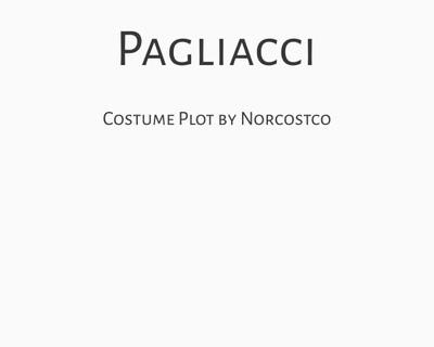 Pagliacci Costume Plot   by Norcostco