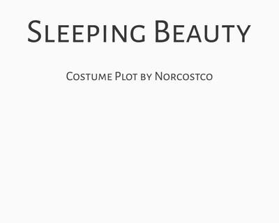 Sleeping Beauty Costume Plot | by Norcostco