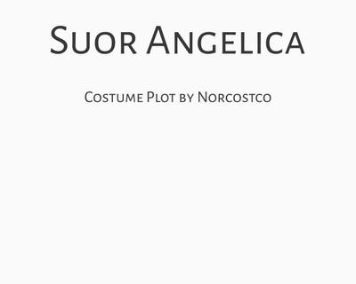 Suor Angelica Costume Plot | by Norcostco