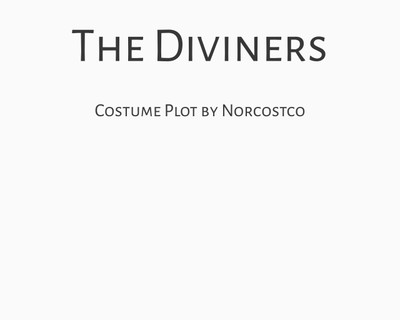 The Diviners Costume Plot | by Norcostco