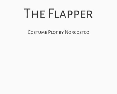 The Flapper Costume Plot   by Norcostco