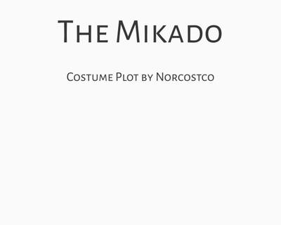 The Mikado Costume Plot   by Norcostco