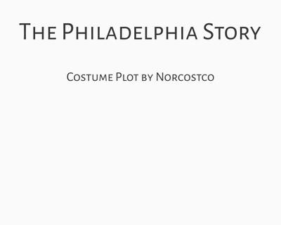 The Philadelphia Story Costume Plot | by Norcostco