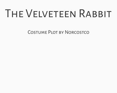 The Velveteen Rabbit Costume Plot | by Norcostco