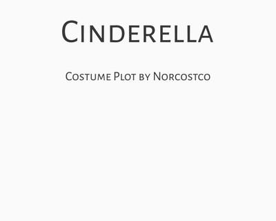Cinderella Costume Plot | by Norcostco