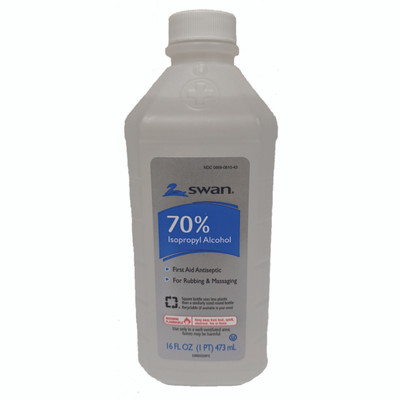 70% Isopropyl Alcohol, 16 oz Bottle