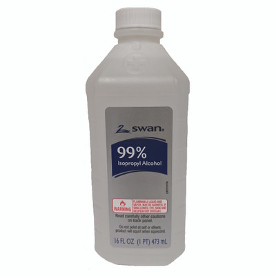 99% Isopropyl Alcohol, 16 oz Bottle