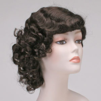 30's Ingenue with Curls Wig