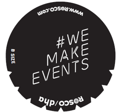 # We Make Events - Rosco Gobo