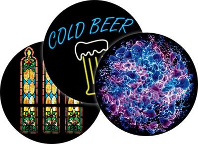 Apollo Multi-Color or ColourScenic Glass Gobo