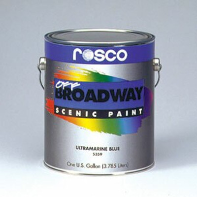 Off Broadway is one of Rosco's most popular scenic paints.