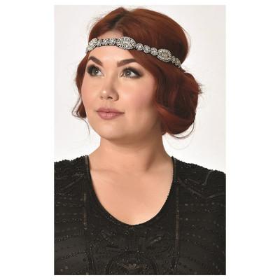Rhinestone Premium Flapper Headband
