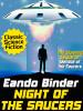 Night of the Saucers, by Eando Binder (epub/Kindle/pdf)