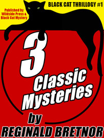 Black Cat Thrillogy #1: 3 Classic Mysteries by Reginald Bretnor  (epub/Kindle/pdf)
