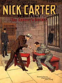 Nick Carter #604: The Convict's Secret, by Nicholas Carter (epub/Kindle/pdf)