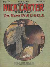 Nick Carter 737 - The Mark of a Circle, by Nicholas Carter (epub/Kindle/pdf)