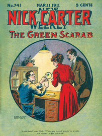 Nick Carter #741: The Green Scarab, by Nicholas Carter (epub/Kindle/pdf)