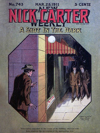 Nick Carter 743: A Shot in the Dark, by Nicholas Carter (epub/Kindle/pdf)