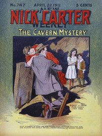 Nick Carter 747: The Cavern Mystery, by Nicholas Carter (epub/Kindle/pdf)